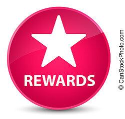 Rewards (star icon) elegant pink round button
