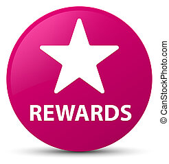 Rewards (star icon) pink round button