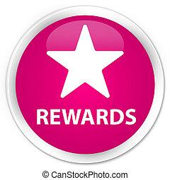 Rewards (star icon) premium pink round button