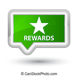 Rewards (star icon) prime green banner button