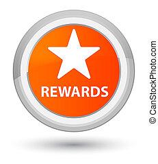 Rewards (star icon) prime orange round button