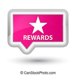 Rewards (star icon) prime pink banner button