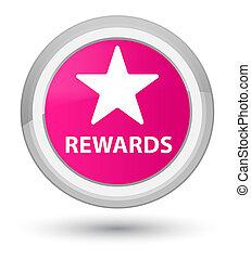 Rewards (star icon) prime pink round button