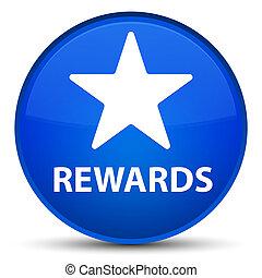 Rewards (star icon) special blue round button