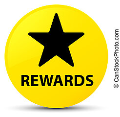 Rewards (star icon) yellow round button