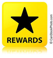 Rewards (star icon) yellow square button