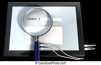 rewizja, instrument, online