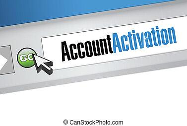rewizja, rachunek, wiadomość, aktywacja, bar.