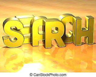 rewizja, słowo, tło, żółty, 3d