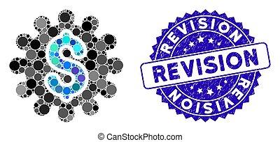rewizja, strapienie, konfiguracja, ikona, wpłata, mozaika,...
