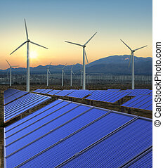 rewnewable, エネルギー, 農場
