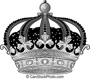 rey, corona