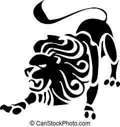 rey, león