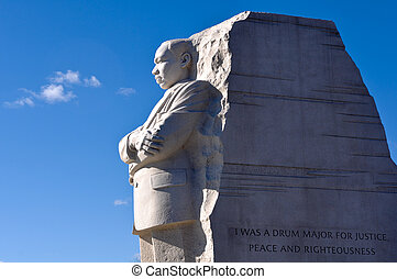 rey, luther, washington, monumento conmemorativo, cc, martin