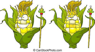 rey, maíz