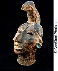rey, pacal, maya, estatua
