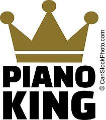 rey, piano