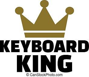 rey, teclado