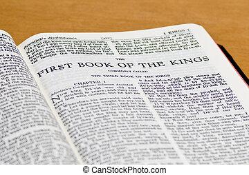 reyes, biblia, -, página