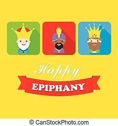 reyes, tres, avatar