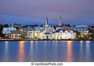 Reykjavik, Iceland. - Image of Reykjavik, capital city of ...