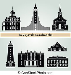 Reykjavik V2 landmarks