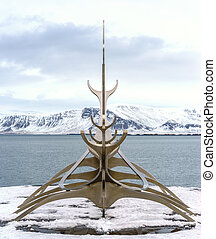 Reykjavik Waterfront - A look across the bay from the...