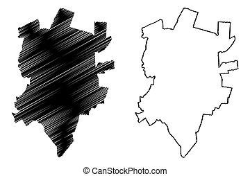 Rezekne City (Republic of Latvia, Administrative divisions ...