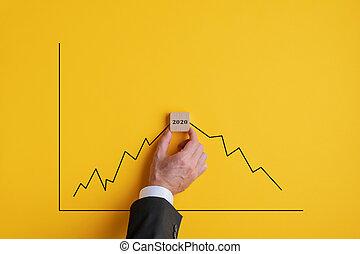 rezession, voraussage, 2020