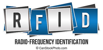 RFID Blue Grey Blocks - RFID - Radio Frequency...