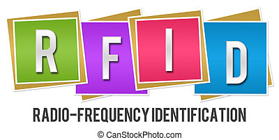 RFID Colorful Blocks - RFID - Radio Frequency Identification...