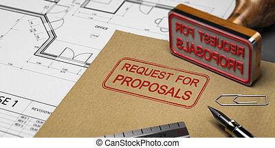rfp, petición, propuestas