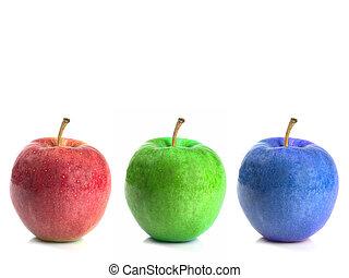 rgb, äpplen