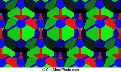 RGB Geometric Kaleidoscope