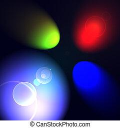rgb, luces