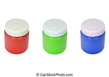 RGB - paint cans