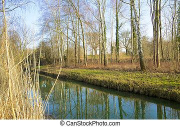 Rheinauen Canal 1
