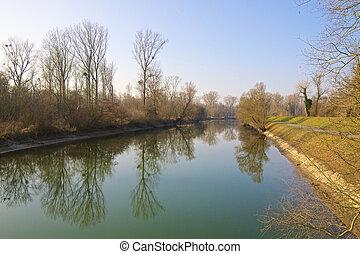 Rheinauen Canal 2
