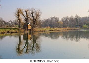 Rheinauen Hut 1
