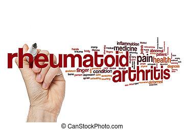 rheumatoid arthritis , λέξη , σύνεφο