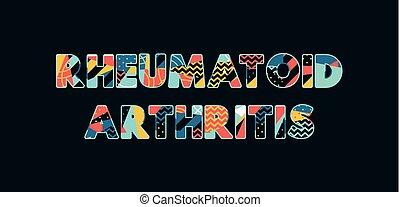 Rheumatoid Concept Word Art Illustration