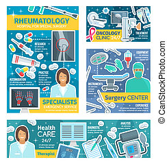 Rheumatology, oncology and surgery doctors - Rheumatology...