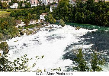 rhine fall in Switzerland