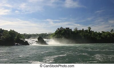 Rhine Falls. Northern Svitserland.