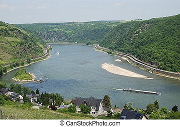 Rhine Gorge at the Middle Rhine