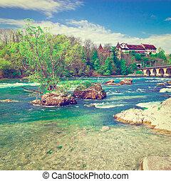 Rhine in Switzerland