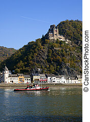 rhine nearby st goar