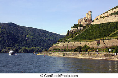Rhine Valley, Germane - The Rhine valley is one of the most...