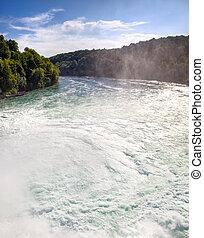 Rhine waterfall