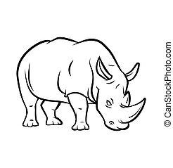 rhinocéros, tatouage